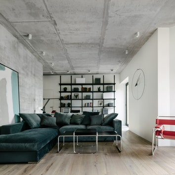 Имз, Эйлин Грей и Марсель Брёйер: архитектурная квартира в Москве, 110 м²