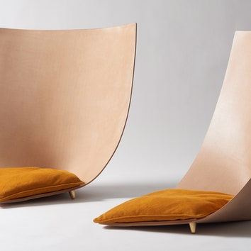 Стильные кресла, стулья и табуреты из кожи