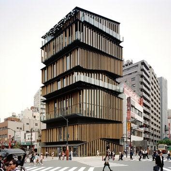Культурный и информационный центр в Асакусе.