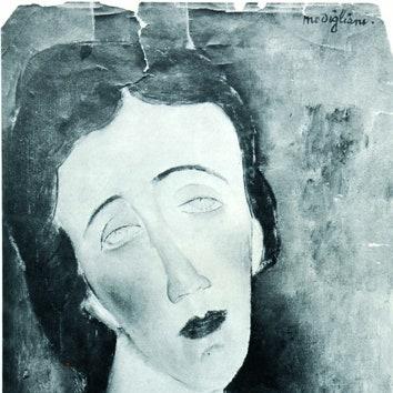 Amadeo Modigliani. Portrait of Elene Ettingen. 1917.
