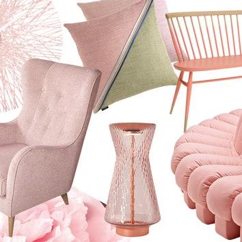 Тенденции дизайна: розовый в интерьере