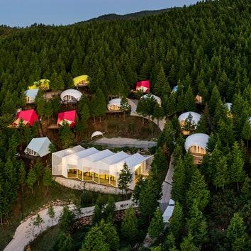 #отпускпообмену: глэмпинг в Южной Корее