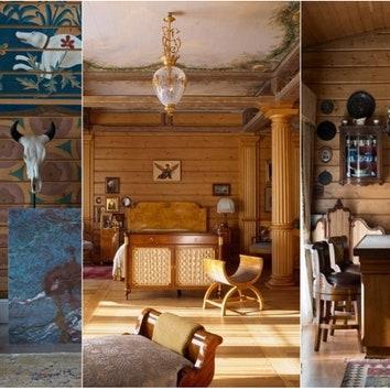 Дизайн деревянного дома: 10 вариантов