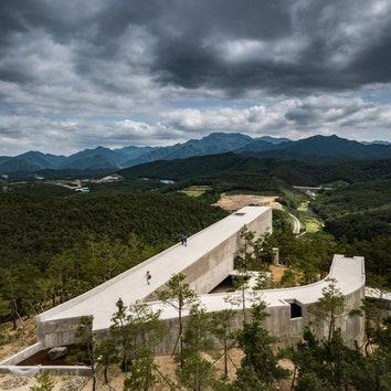 Художественный павильон в Южной Корее