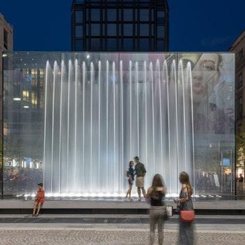 Новый магазин Apple в Милане по проекту Foster + Partners