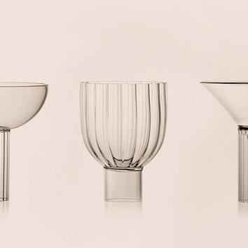 Трио архитектурных бокалов
