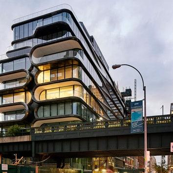 Первый проект Захи Хадид в Нью-Йорке