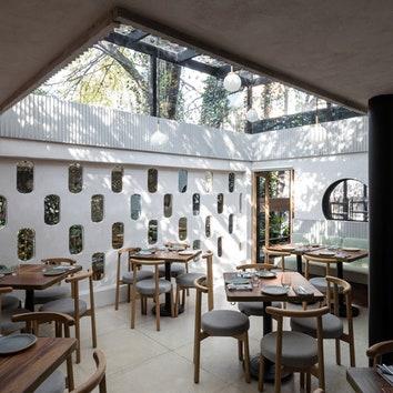 Укромный ресторан в Мехико