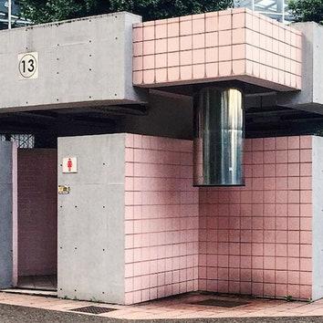 Инстаграм дня: архитектура общественных туалетов Японии