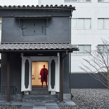 Бутик Issey Miyake в 132-летнем доме в Киото
