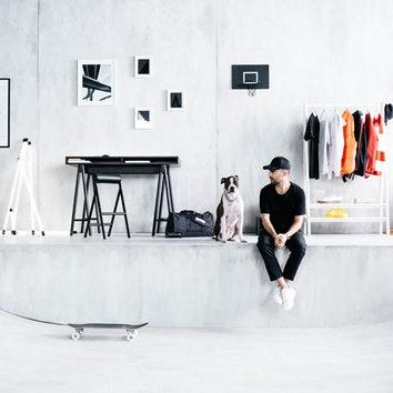 Скейтборд и одежда от IKEA: новая коллекция Spänst