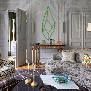 Квартира по дизайну Жана-Луи Денио в Х округе Парижа