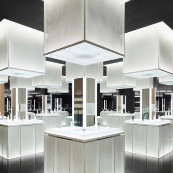 Японский минимализм: четырехэтажный флагманский магазин Shiseido в Токио