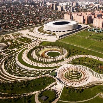 10 впечатляющих стадионов по всему миру