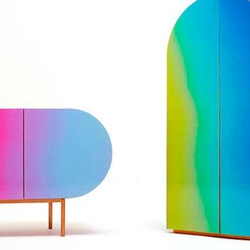 Радужная мебель-хамелеон