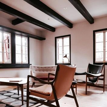 Отель House of Finn Juhl Hakuba в Дании. Смотрите весь проект по клику на изображение.