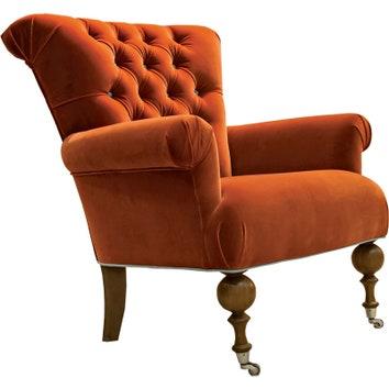 Кресло, текстиль, дерево, Roy Bosh.