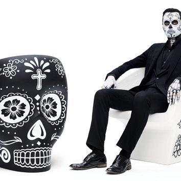 Новая раскраска кресла Фабио Новембре