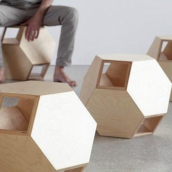Архитектурные стулья и табуреты-трансформеры
