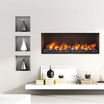 Камин Dimplex Сassette 1000: вода и пламя