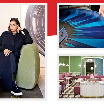 Индиа Мадави + Louis Vuitton