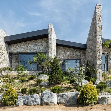 Многослойный дом в Южной Корее