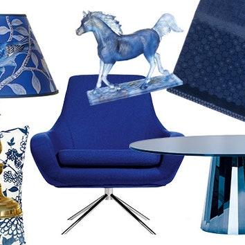 Тенденции дизайна: синий цвет