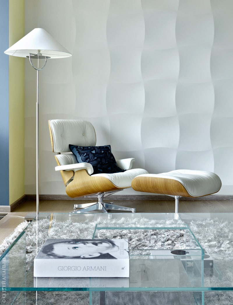 Lounge Chair by Charles amp Ray Eames  1956         Vitra.  Ligne Roset.