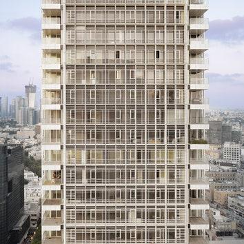 Башня по проекту Ричарда Мейера в Тель-Авиве