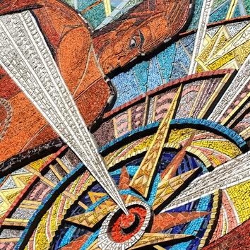 Архитектура в объективе: советские мозаики