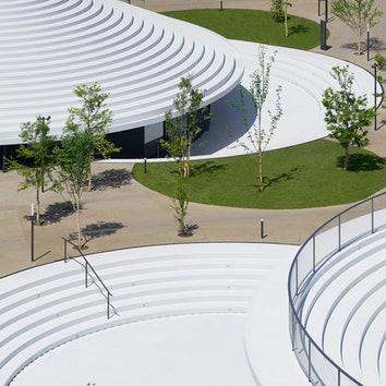 Новая городская площадь в Японии от Nendo