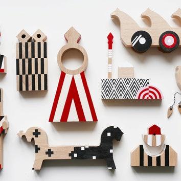 Наше русское: игрушки в духе русского авангарда