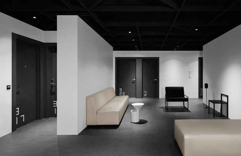 Hotel Mono          Spacedge Designs