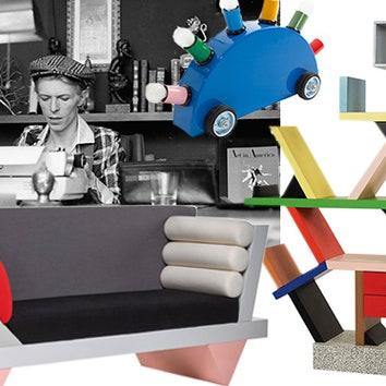 Коллекция мебели Дэвида Боуи