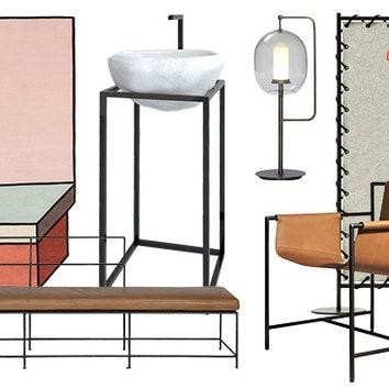 Тенденции дизайна: металлический каркас