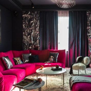 Эксцентричная квартира в Москве, 90 м²