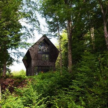 Дом дровосека в Квебеке