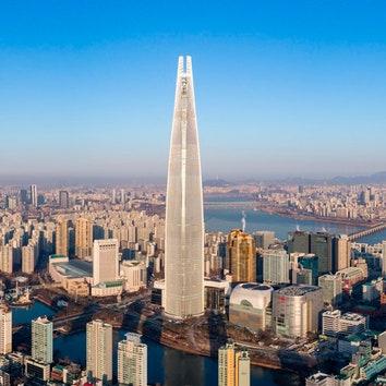 Самое высокое здание в Южной Корее