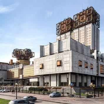Российская академия наук, Москва. Фото: Роберто Конте.