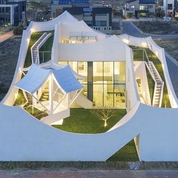 Дом для пилота в Южной Корее