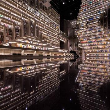 Кинотеатр с книжным магазином по проекту X+Living
