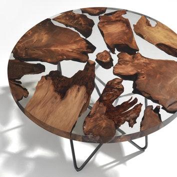 Стол из тысячелетнего дерева от Riva1920