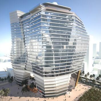 Самое высокое здание в Израиле по проекту Рона Арада