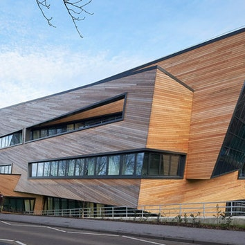 Центр Огдена в Англии по проекту Даниэля Либескинда