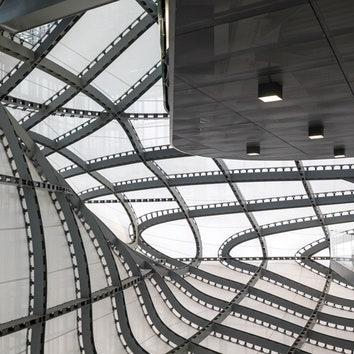 Конференц-центр в Риме по проекту бюро Фуксаса