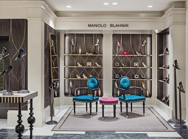 Manolo Blahnik       Selfridges  Admagazine