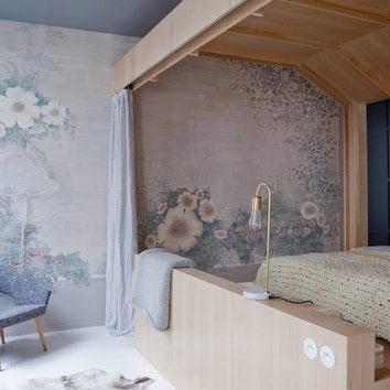 Пастельная квартира в Париже, 70 м²