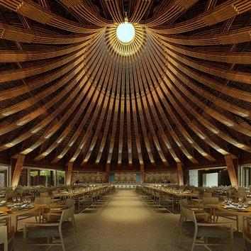 Ресторан во Вьетнаме, студия Bambubuild. Подробнее о проекте читайте по клику на фото. https://admagazine.ru/inter/99123_ekorestoran-vo-vetname.php.