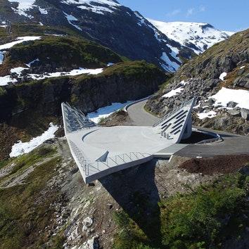 Смотровая площадка в Норвегии