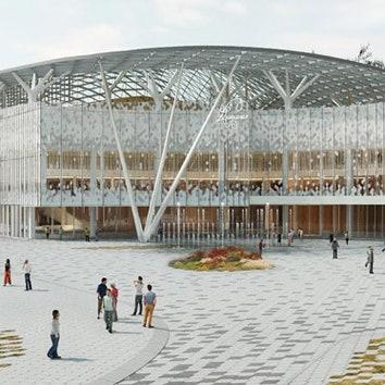 Проект Концертного зала в Зарядье
